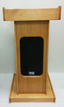 AV podium, wooden podium, podiums and lecterns rental.