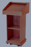 AV pulpit podium rental, table top podium rental, clear podiums, lucite lecterns rentals.