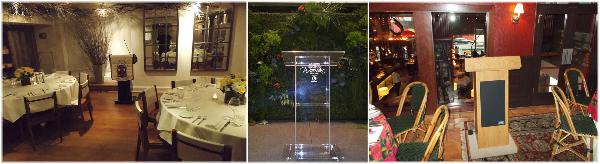 AV NYC Presentation services AV offers podium rental service in New York.