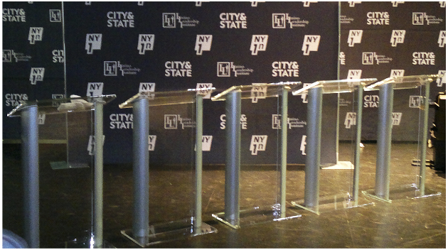 The best podium rental place in New York, all AV, Podiums, stage rentals