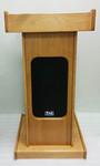 AV podium, wooden podium, podiums and lecterns rental.