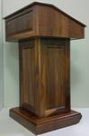 Rent presentation podiums, rent pulpit, rent AV lectern from AV NYC.